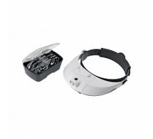 Лупа Veber 81001-G (лупа налобная с подсветкой)