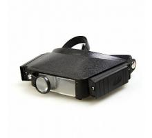 Лупа налобная с подсветкой Veber LP-23-11, 1,8x-3,7x, 44x29 мм