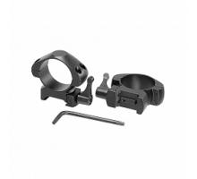 Кольца для прицела Veber E 3021 QM Weaver быстросъёмные